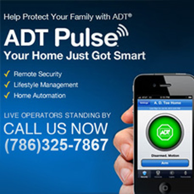 Adt Pulse Service Miami Home Security 786 325 7867